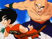 Cop Ten Shin vs Goku