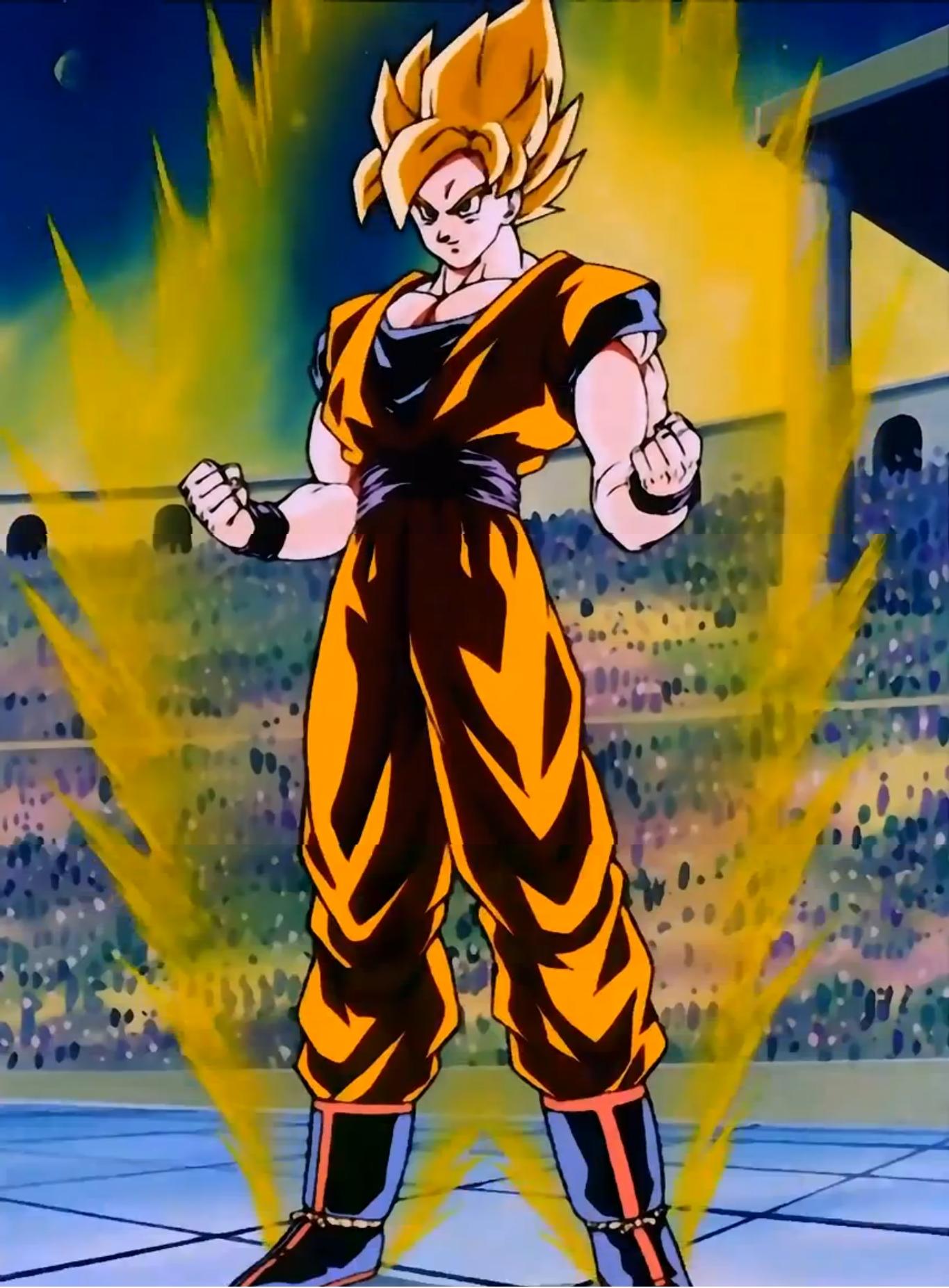 Son goku poderes e habilidades dragon ball wiki fandom - Sangoku super sayen 2 ...