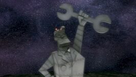 Professor Tommy statue