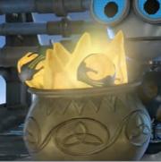 Pot of Goldium closeup