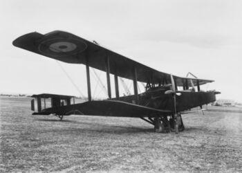 Handley Page 0-400 No 1 Sqn AFC Haifa 1918