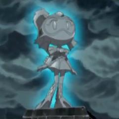 Mermaid Bomber's statue