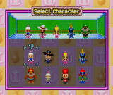 Normal Character Select