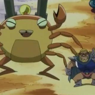Crab Bazooka Bomber and Mujoe