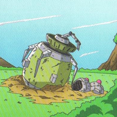 Artwork of the Crash Site