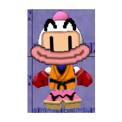 Karate Outfit, with the Clown Smile and Boxing Gloves
