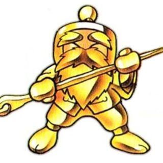Bomber Chun in Gold