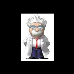 Dr. Ein, a human scientist