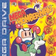 <i>Mega Bomberman</i> PAL box