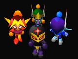 Masked Trio