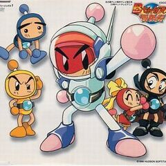 Armored White Bomber in <i>Bomberman B-Daman bakugaiden</i>