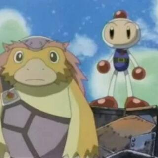 Bongo and White Bomber