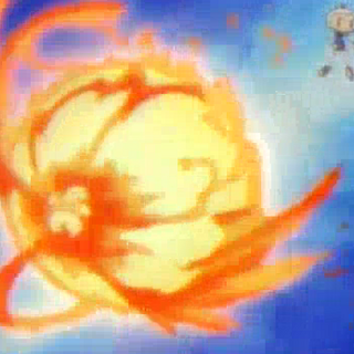 Fire Bomb in the anime