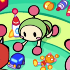 Green Bomber in <i>Super Bomberman R</i>