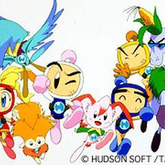 Bomberman B-Daman Bakugaiden series promo picture