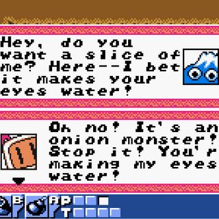 Bomberman Quest Conversation