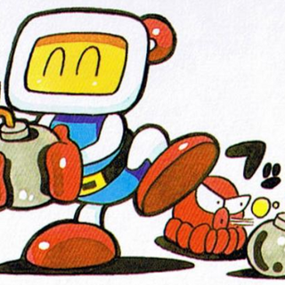 <i>Super Bomberman 3</i> Guidebook Art