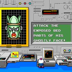 Boss battle tips shown before D-1.