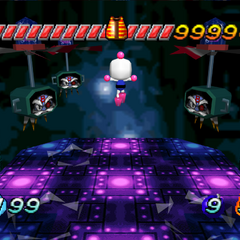 Bagular's Second Form in <i>Bomberman Hero</i>