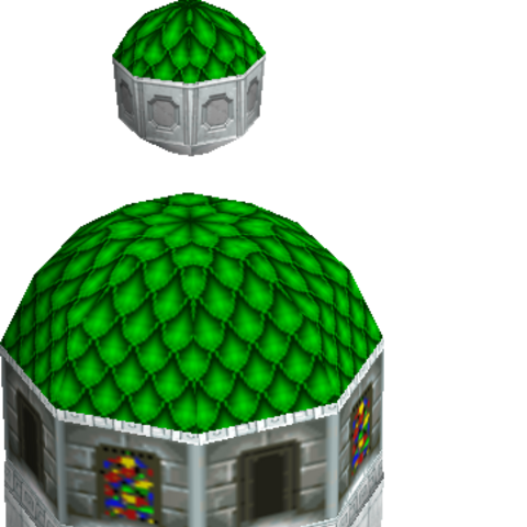 rendered image from the game