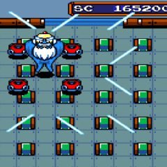 Bagular's First Form in <i>Mega Bomberman</i>