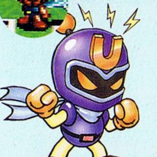 Magnet Bomber in <i>Super Bomberman 2</i>