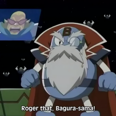 Bagura in <i>Bomberman Jetters</i>