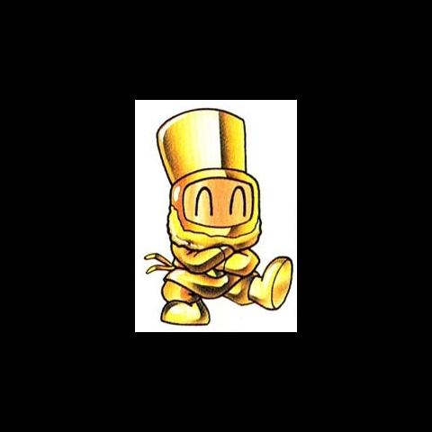 Bomber Cossack in Gold