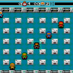 Final Boss Fight in <i>Bomberman</i> (TG-16)