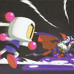 <i>Bomberman Hero</i> scene