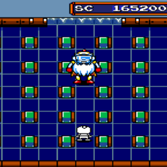 Bagular's Third Form in <i>Mega Bomberman</i>