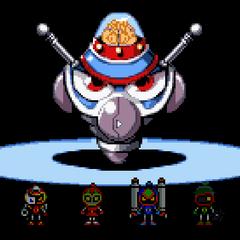 Bagura's brain with several Bomber Kings