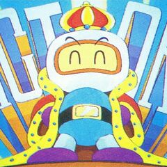 Victory screen (White Bomberman)