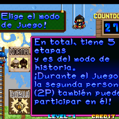 Mode Select (in Spanish)