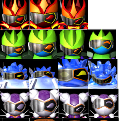 Avatars of all the Knights