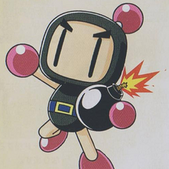 <i>Saturn Bomberman Fight!!</i> art