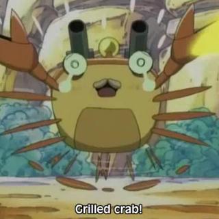 Crab Bazooka meets its end