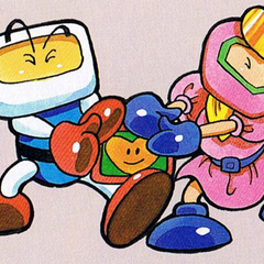 White Bomber and Pretty Bomber in <i>Super Bomberman 3</i> guide