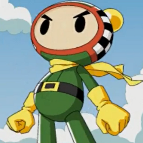 Racer Bomber in <i>Bomberman Land 2</i>