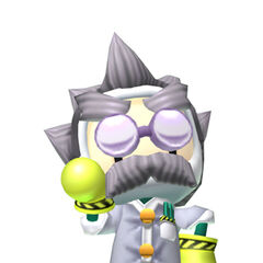 Dr. Ein costume in <i>Bomberman Live</i>
