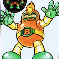 Golem Bomber in <i>Super Bomberman 2</i>
