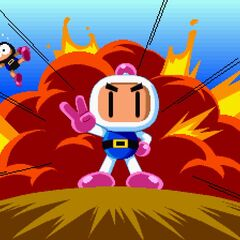 <i>Saturn Bomberman Fight!!</i> Story Mode Clear