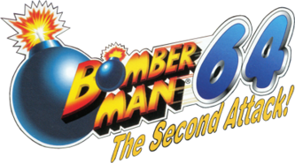 Bomberman 64 The Second Attack logo
