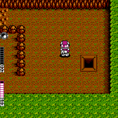 Gameplay from Blaster Master (NES)