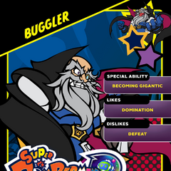 Buggler's <i>Super Bomberman R</i> Profile Card