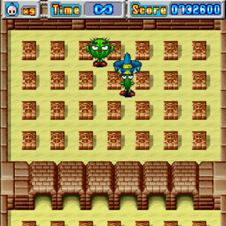 Boss Fight in Bomberman DS