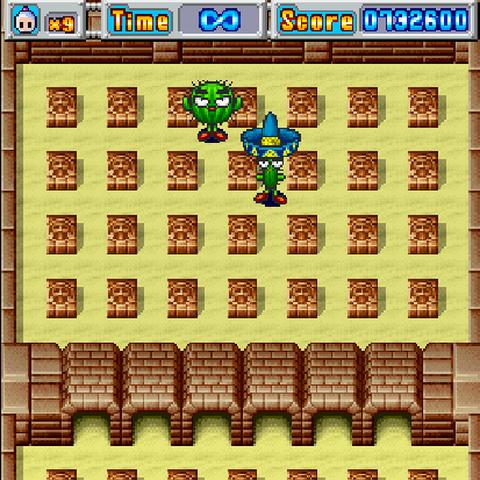 Boss Fight in Bomberman DS
