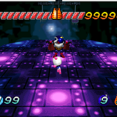Bagular's First Form in <i>Bomberman Hero</i>