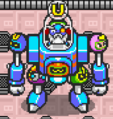 Bagular in his Robot
