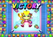 Pretty bomber victory